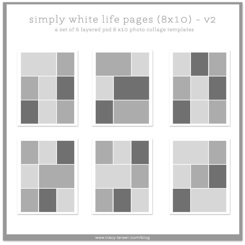 Simply white life pages 8x10 tracy larsen digital shop for Weebly templates for photographers